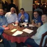 Chris Minton, Mike Kriz, Stephen Tucker, Ian Sumter, Stuart Hall