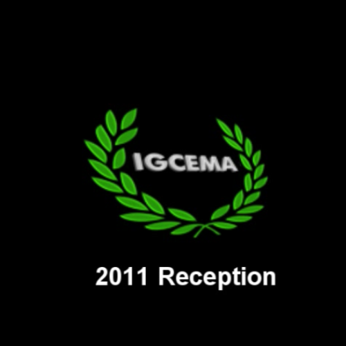 IGCEMA Reception 2011 – GIS