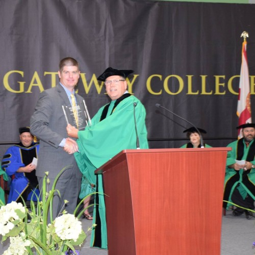 Tucker Receives Distinguised Alumni of the Year Award