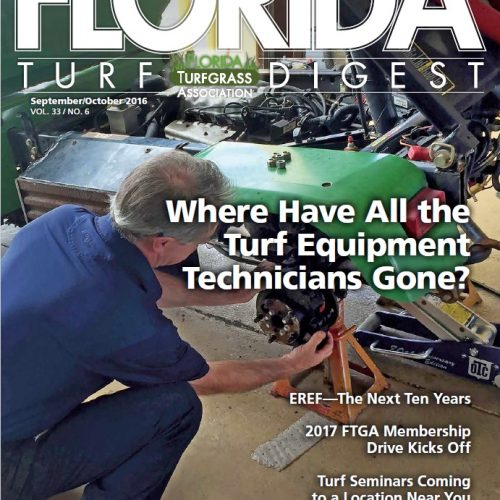 Cover Story Florida Turf Digest – Where have all the Techs Gone?